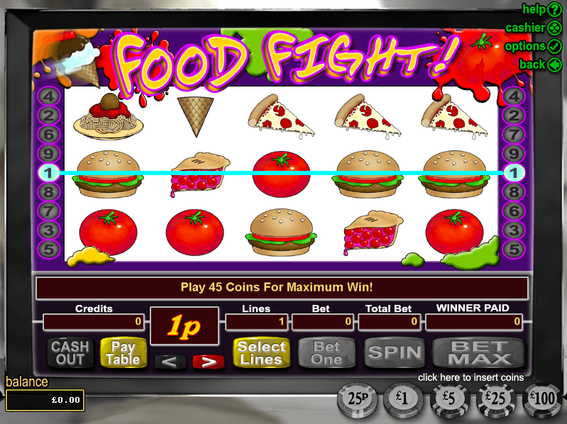 Lucky Red Casino Food Fight Slots