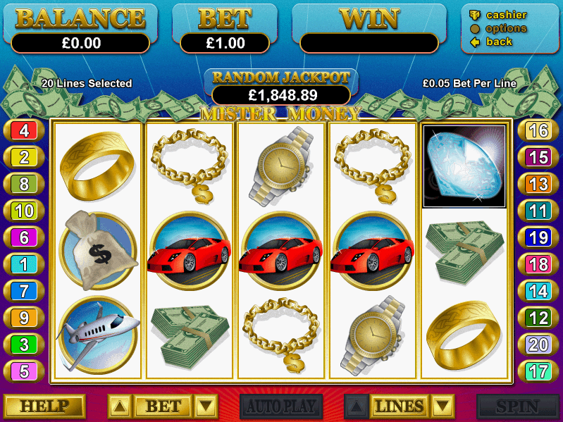 Lucky Red Casino Mister Money Slots
