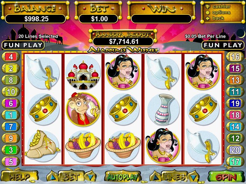 Aladdin's Gold Casino Aladdin's Wishes