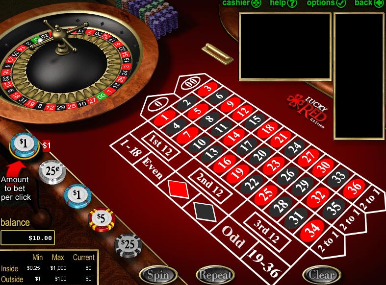 American Roulette Board