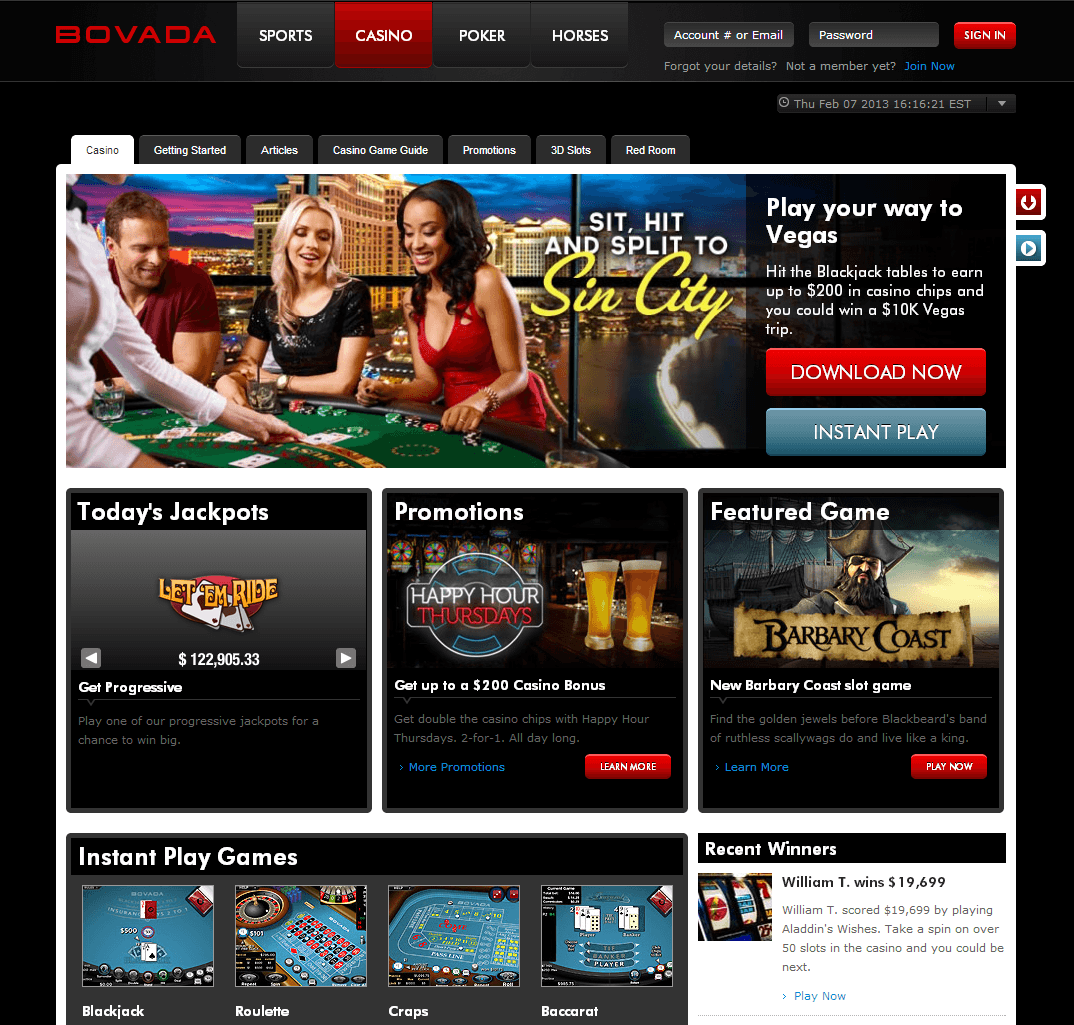 US Online Casinos - The Best Online Casino for USA Players