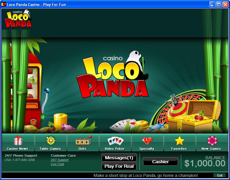 Loco Panda Casino Software