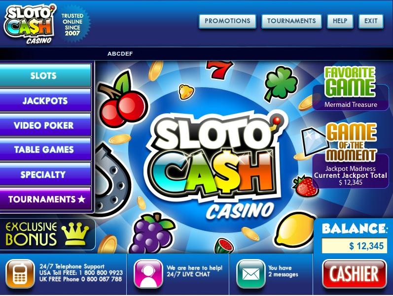 Slotocash Casino Software