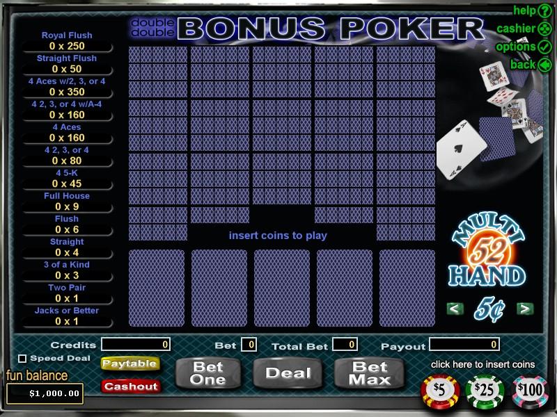 Casino Titan Bonus Poker