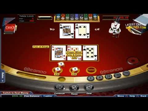 Begado Casino Table Games