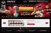 Drake Casino Homepage