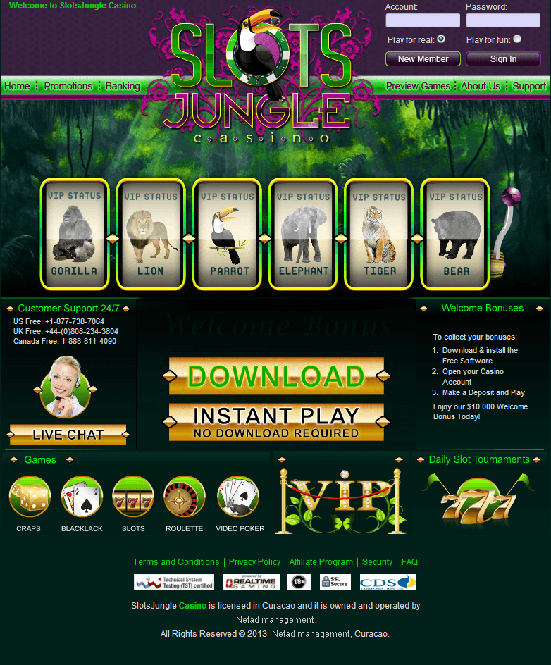 latest casino bonuses free slots