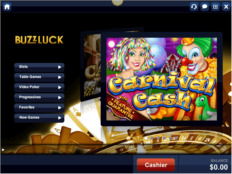 Buzzluck Casino Software