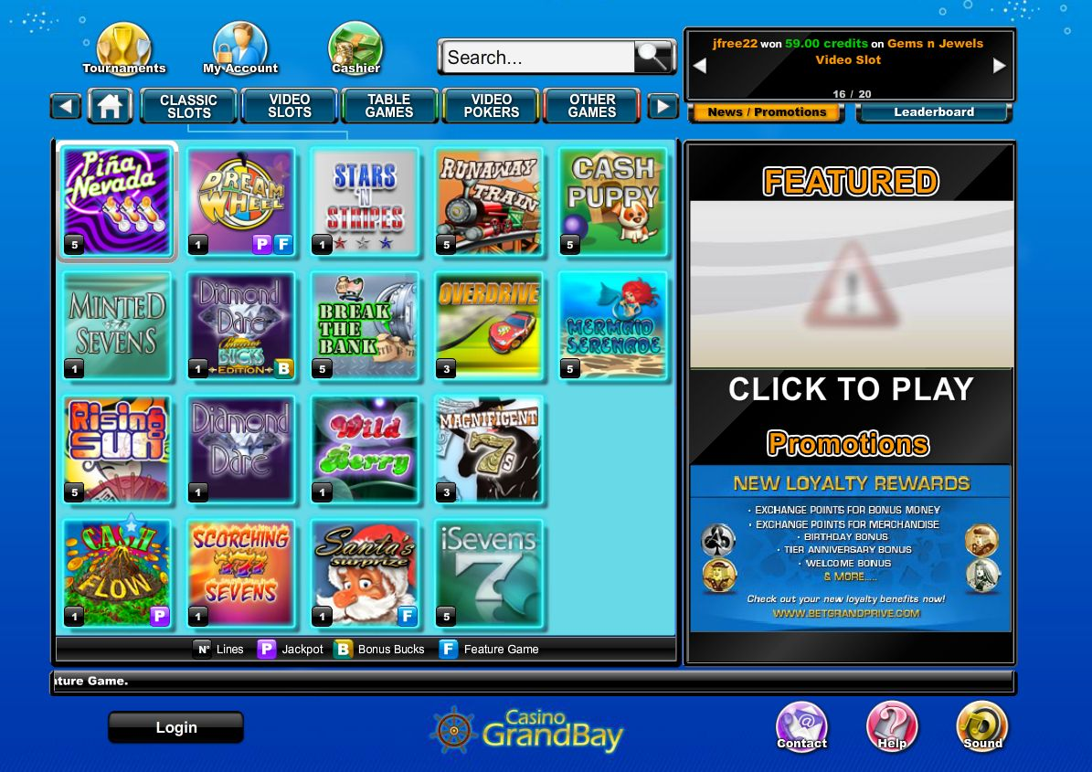 Casino GrandBay Software