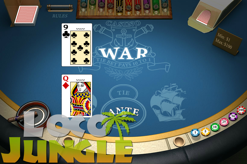 Loco Jungle Casino War