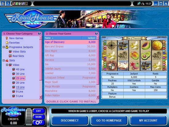 Roadhouse Reels Casino Software