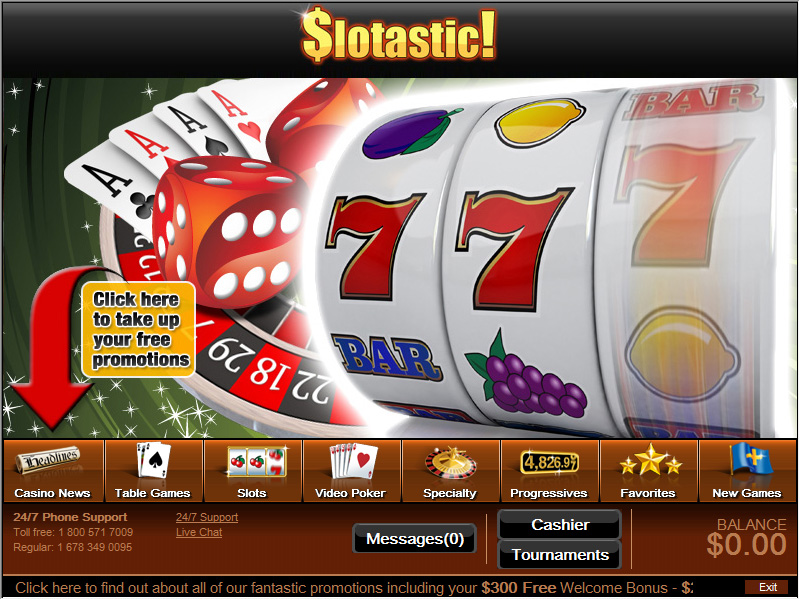 Slotastic Casino Software