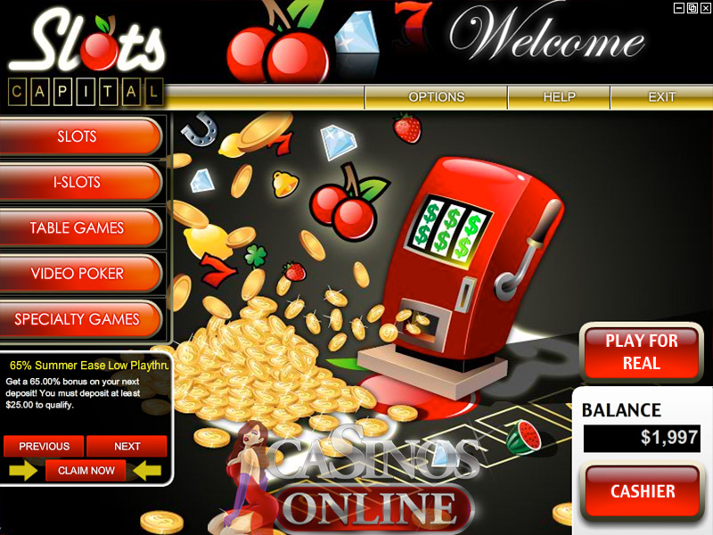 Slots Capital Casino Software