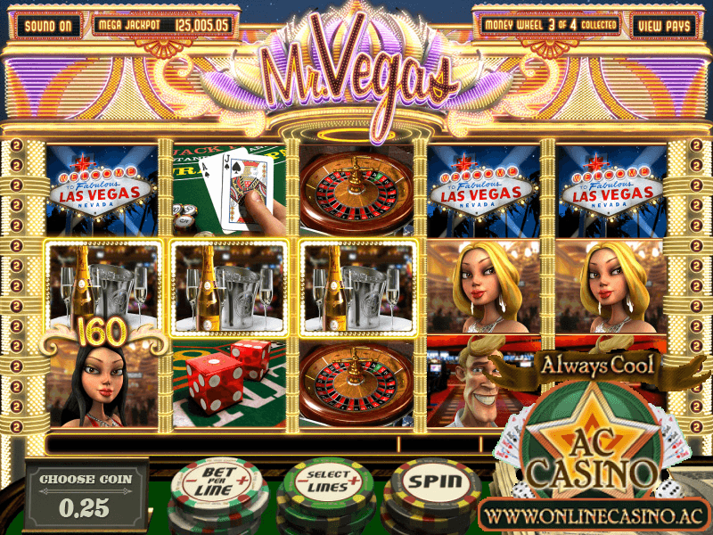 AC Casino Mr Vegas Slot Game
