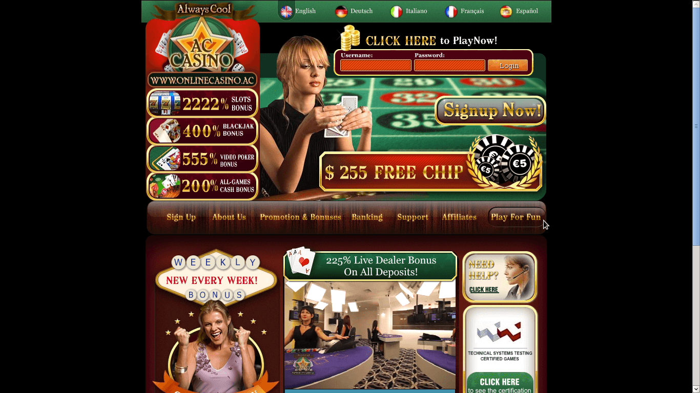 online casinos for us players with free play
