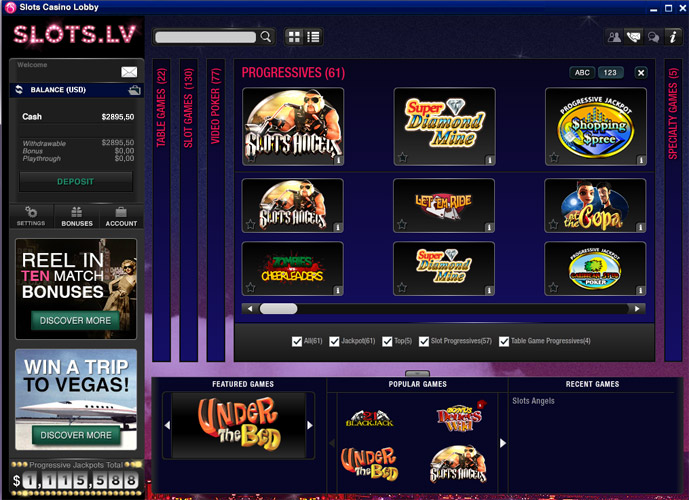 Slots.lv Casino Software